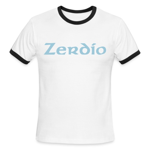 Zerdio Off-Color - Men's Ringer T-Shirt