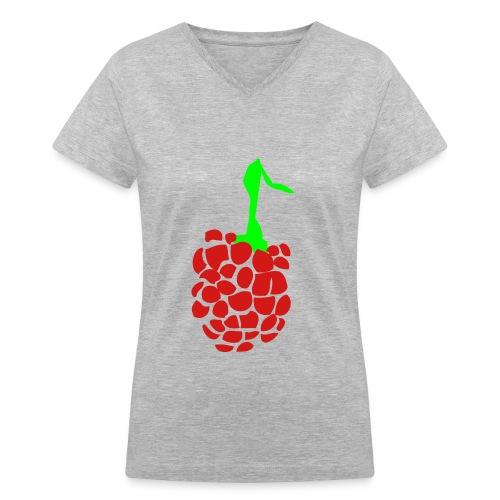 fruts colection - T-shirt avec encolure en V pour femmes