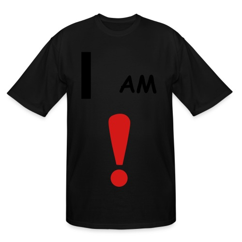 i am - Men's Tall T-Shirt