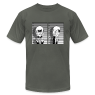 T-Shirts ~ Men's T-Shirt by American Apparel ~ Mugshot Mickey