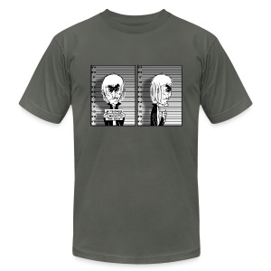 Mugshot Mickey - Men's T-Shirt by American Apparel