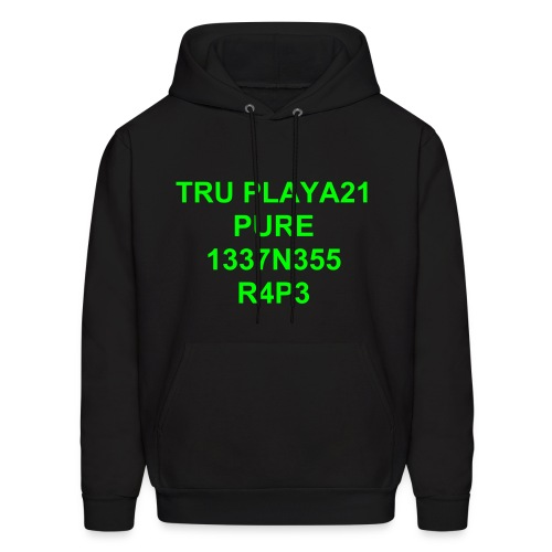 Neon Green tru playa21 - Men's Hoodie
