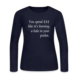 $$ in your pocket - long sleeve - Women's Long Sleeve Jersey T-Shirt