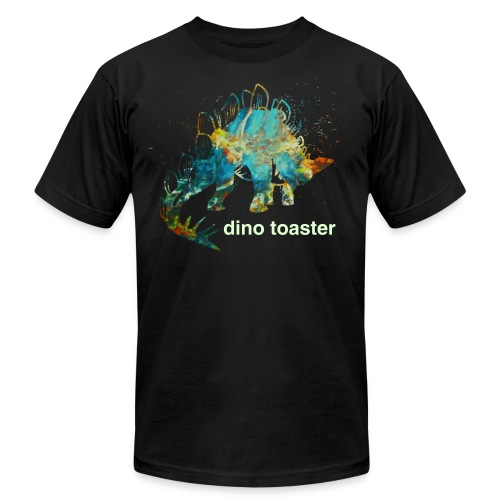 dino toaster COLOR - Men's Fine Jersey T-Shirt