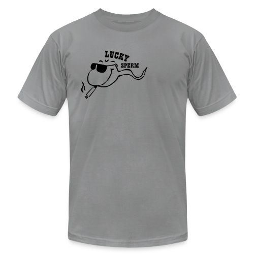 Men's Lucky Sperm Tee - Men's Fine Jersey T-Shirt