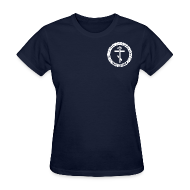 Women's T-Shirts ~ Women's T-Shirt ~ Women's Navy Tee