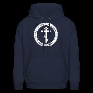 Hoodies ~ Men's Hoodie ~ Men's Navy Logo Hoodie