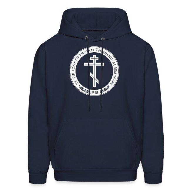 Men's Navy Logo Hoodie