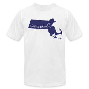 Home is where... Men's American Apparel Tee Shirt - Men's T-Shirt by American Apparel