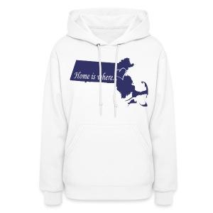 Home is where... Women's Hooded Sweatshirt - Women's Hoodie