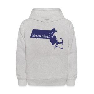 Home is where... Kid's Hooded Sweatshirt - Kids' Hoodie