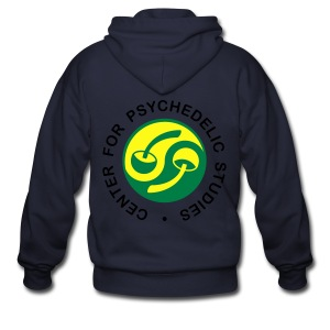 Men's/Women's Goa 'Center For Psychedelic Studies' Hoodie - Men's Zip Hoodie