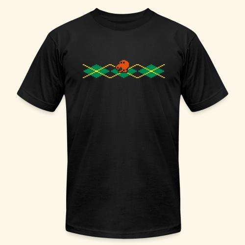 Q*Plaid - Men's Fine Jersey T-Shirt
