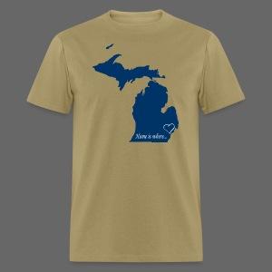 Home is where... Men's Standard Weight T-Shirt - Men's T-Shirt
