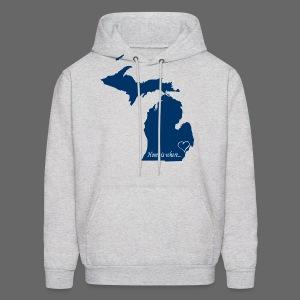 Home is where... Men's Hooded Sweatshirt - Men's Hoodie