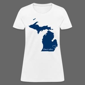 Home is where... Women's Standard Weight T-Shirt - Women's T-Shirt