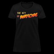 Women's T-Shirts ~ Women's T-Shirt ~ The Key of Awesome Ladies Logo
