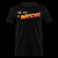 T-Shirts ~ Men's T-Shirt ~ The Key of Awesome Logo Men