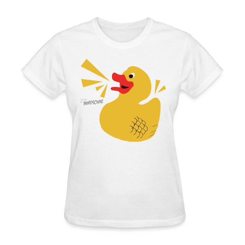 Ducky of Awesome - Ladies - Women's T-Shirt
