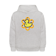 Sweatshirts ~ Kids' Hoodie ~ atomic duckie - grey