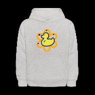 Sweatshirts ~ Kids' Hoodie ~ atomic duckie - grey