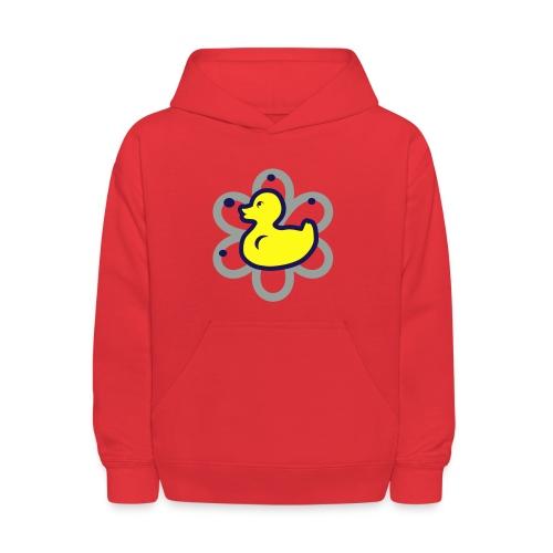atomic duckie - red - Kids' Hoodie