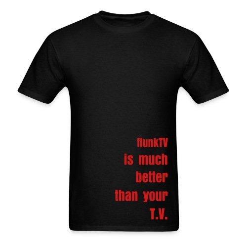 Better Than Your T.V. T-Shirt BLACK  - Men's T-Shirt