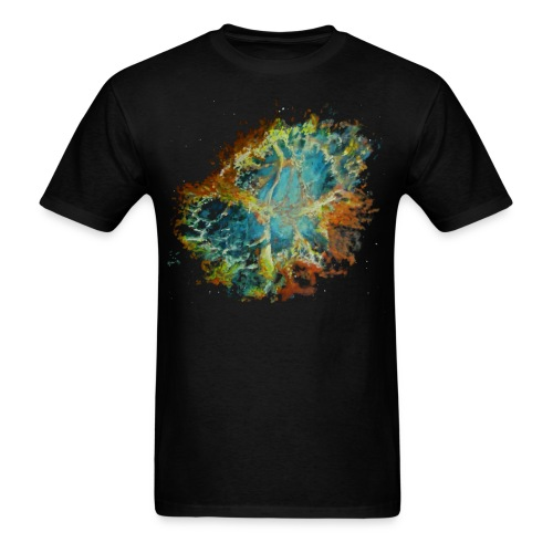 nebula basic - Men's T-Shirt