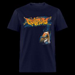 Rollin Low Street Lamp - Men's T-Shirt