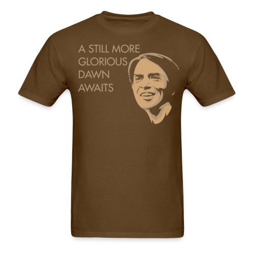 Carl Sagan - A Glorious Dawn - Men's T-Shirt