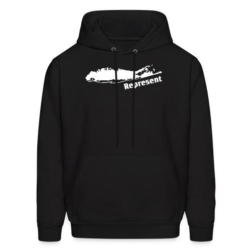 Long Island Represent - Men's Hoodie