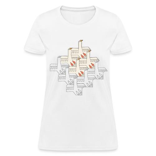 Echo of Escher - Women's T-Shirt