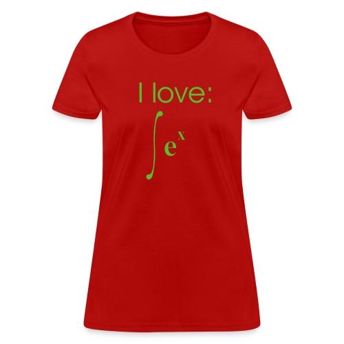 Exponential Integration - Women's T-Shirt