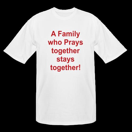 A family.... - Men's Tall T-Shirt