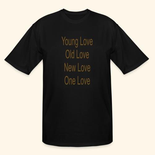 One Love - Men's Tall T-Shirt