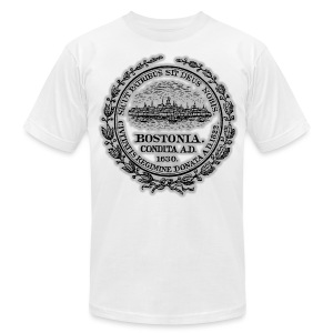 Boston City Seal Men's American Apparel Tee - Men's T-Shirt by American Apparel