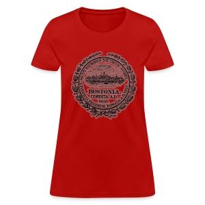 Boston City Seal Women's Standard Weight T-Shirt - Women's T-Shirt
