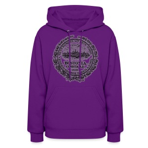 Boston City Seal Women's Hooded Sweatshirt - Women's Hoodie
