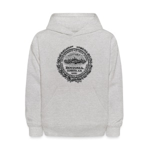Boston City Seal Kid's Hoody - Kids' Hoodie