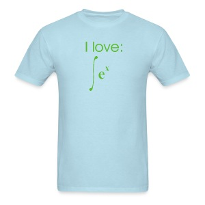 Exponential Integration - Men's T-Shirt