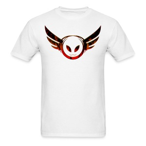 Betamorph Recordings Alien Logo T | sunset plams - Men's T-Shirt