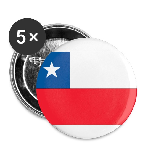 chile buttons - Buttons large 2.2'' (5-pack)