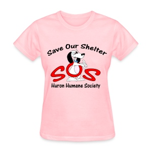 Save Our Shelter! Women's T-Shirt - Women's T-Shirt