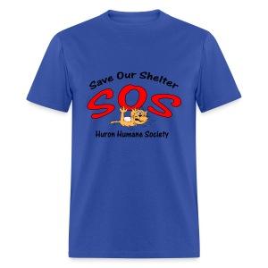 Save Our Shelter! Men's T-Shirt - Men's T-Shirt