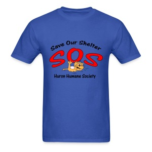Save Our Shelter! Men's T-Shirt - Men's T-Shirt