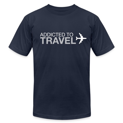 Addicted to Travel - Men's Fine Jersey T-Shirt
