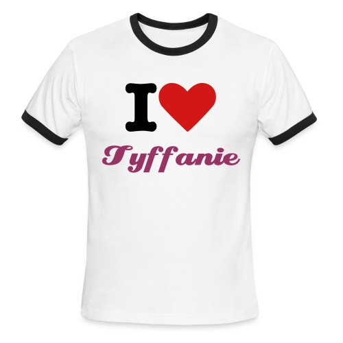 I Love Tyffanie Ringer T v2 - Men's Ringer T-Shirt