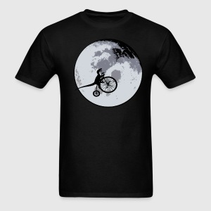 Raptor Over The Moon - Men's T-Shirt