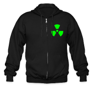 Zip Hoodies & Jackets ~ Men's Zip Hoodie ~ Radiation hoodie