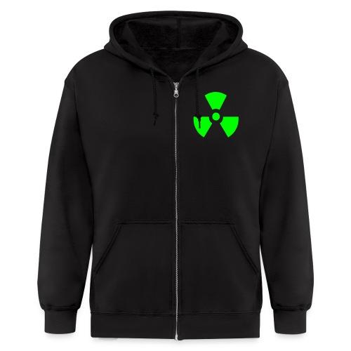 Radiation hoodie - Men's Zip Hoodie